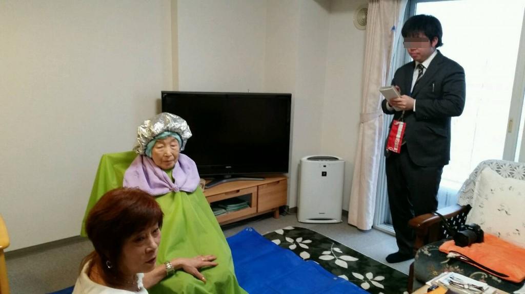 北海道新聞取材